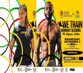 The next week of WeTrain Workout Sessions are hosted by Sakima Mullings and Jessica Cargill, slated for December 2 and 7.