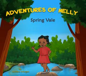 """Kristina Morgan, through her book, """"Adventures of Nelly SpringVale"""" seeks to reinforce positivity, joy and diversity among young childrenof Caribbean heritage."""