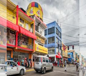 iStock photo shows a section of the bustling St James Street in Montego Bay.