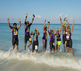 Fun time at Reggae Marathon, Half Marathon & 10K.