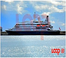 SeaDream docked in Bridgetown Port on November 12. (FILE)