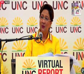 UNC Political Leader, Kamla Persad Bissessar