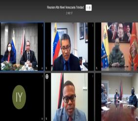 Minister of National Security meets with Venezuelan counterpart on border security matters