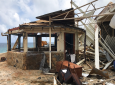 This Sept. 14, 2017 photo provided by Guillermo Houwer on Saturday, Sept. 16, shows storm damage to the Biras Creek Resort in the aftermath of Hurricane Irma on Virgin Gorda in the British Virgin Islands.
