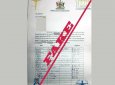 A sample of the letter bearing the Health Ministry's
