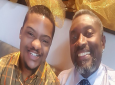 Glen Niles, founder of the Down Syndrome Family Network with his son Tyrese who inspired the organisation.