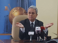 Finance Minister Colm Imbert speaks at a media conference on October 2, 2018 at the Ministry of Finance. Photo: Darlisa Ghouralal.
