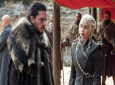 "This image released by HBO shows Kit Harington, left, and Emilia Clarke on the season finale of ""Game of Thrones."" (Macall B. Polay/HBO via AP)"