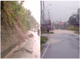 Photo: Heavy rains overnight led to flooding in some parts of North, Central and South Trinidad, along with landslips on the Lady Young Road, on November 15, 2018.