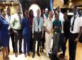 Team Grenada and Captain of the MSC Preziosa Corrado Iaconis