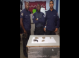 A quantity of marijuana, a firearm and ammunition were seized in the Malick area on Friday.