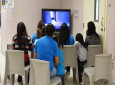 This Aug. 9, 2018, file photo, provided by U.S. Immigration and Customs Enforcement, shows a scene from a tour of South Texas Family Residential Center in Dilley, Texas. (Charles Reed/U.S. Immigration and Customs Enforcement via AP, File)