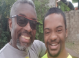 Glen Niles, founder of the Down Syndrome Family Network with his son Tyrese.