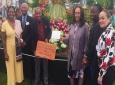 Grenada Exhibit at Chelsea Flower Show and Grenada Team
