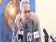 Finance Minister Colm Imbert speaks at a media conference May 17, 2019.