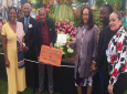Grenada Exhibit at Chelsea Flower Show and Grenada Team