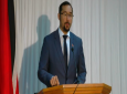 National Security Minister Stuart Young gives details on the soon-to-be-rolled out Venezuelan migrant registration policy May 24, 2019.