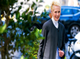 E. Jean Carroll is photographed, Sunday, June 23, 2019, in New York. Carroll, a New York-based advice columnist, claims Donald Trump sexually assaulted her in a dressing room at a Manhattan department store in the mid-1990s. Trump denies knowing Carroll. (AP Photo/Craig Ruttle)