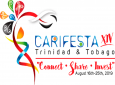 This is the logo for Carifesta XIV. A new permanent logo will be launched at the closing ceremony.