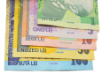 The study found that the Romanian Leu, made from Polymer, was the dirtiest of the currencies tested.