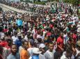 Manifestation pour réclamer la démission du président Jovenel Moïse, le 20 octobre 2019 à Port-au-Prince, en Haïti afp.com - Valerie Baeriswyl