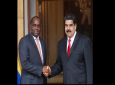 Dominican Prime Minister Roosevelt Skeritt (left) and Venezuelan President Nicolás Maduro (right). Photo: Office of the President of Venezuela