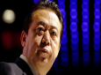 FILE - In this July 4, 2017, file photo, Interpol President Meng Hongwei delivers his opening address at the Interpol World Congress, in Singapore. (AP Photo/Wong Maye-E, File)