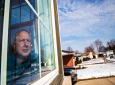 In this February 11, 2020, photo, Ken Zurek, 63, poses for a photo at his home in Highland, Ind. (Zbigniew Bzdak/Chicago Tribune via AP)