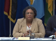 CARICOM Chairman and Prime Minister of Barbados Mia Mottley.