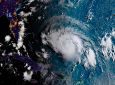 Hurricane Dorian as it approached the Caribbean (file photo)