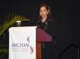 Photo: AMCHAM T&T President Patricia Ghany.