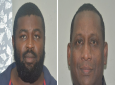 Photo: Marlon Scipio (left), David Subero (right), courtesy Trinidad and Tobago Police Service.