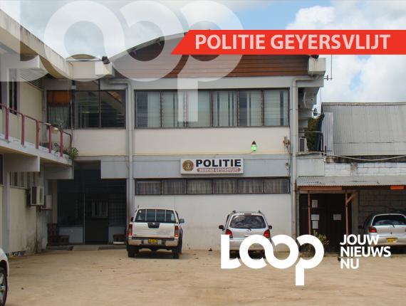 Remon is ter voorgeleiding overgedragen aan de politie van Geyersvlijt en gratis loge geboden in het cellenhuis.