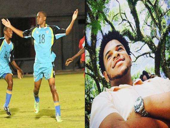 Bradley Cyril (l), Brandon St Omer (r)