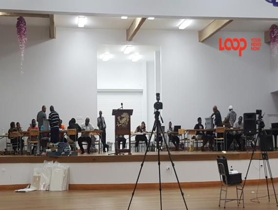 Counting has begun for the St. John constituency.