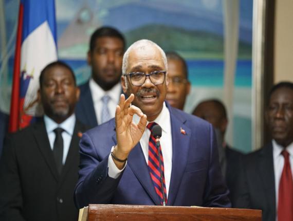 Jack Guy Lafontant, Premier ministre démissionnaire