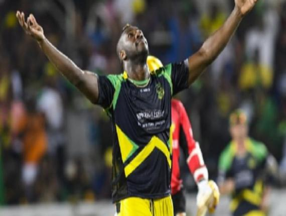 Jamaica and West Indies allrounder Andre Russell