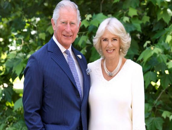Their Royal Highnesses, The Prince of Wales and The Duchess of Cornwall.