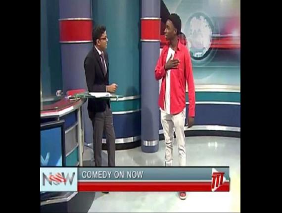 TTT host Rishi Harrynanan (left), Comedian Carlon George (right)
