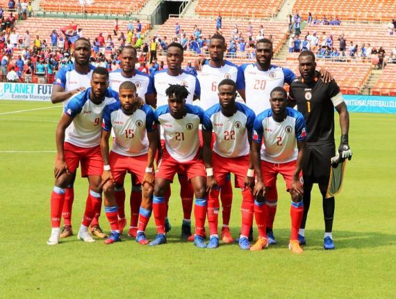 La sélection haïtienne de football. Photo: FHF
