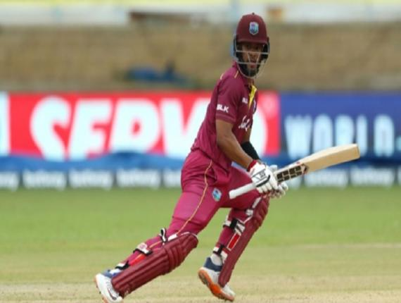 Shai Hope starred in West Indies' win over Afghanistan.
