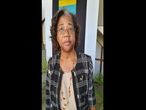 Minister for Health and Wellness, Senator the Honourable Mary Isaac