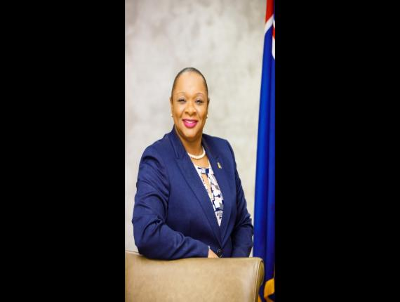 Premier Sharlene Cartwright-Robinson. Photo: Turks and Caicos House of Assembly
