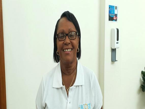 Executive Director of the St Lucia Manufacturer's Association, Paula James
