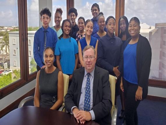 The team at HSM welcomes 11 interns: Destiny Russell, Shyanne Stewart, Paris Jackson, Anabelle Bush, Johanna Dixon, Kevaughn Hutchinson, Latoya Frazer, Jaysie Allen, Christopher Herrera, Aliyanna Fisher and Christopher Myles.