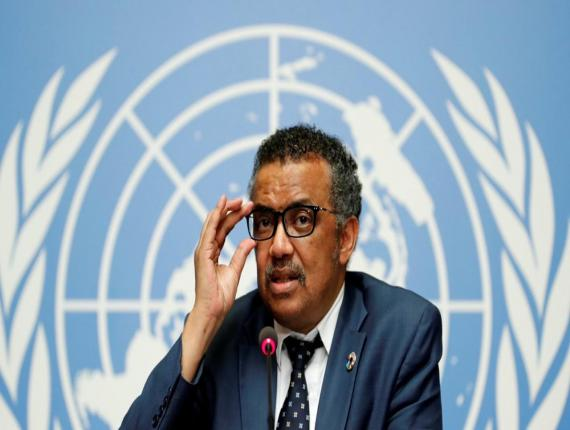 World Health Organization Director-General Tedros Adhanom Ghebreyesus