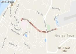 Google Map image of Smith Rd.