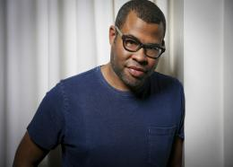 "In this Feb. 9, 2017 file photo, director Jordan Peele poses for a portrait at the SLS Hotel in Los Angeles to promote his film, ""Get Out"". Peele is following up the remarkable success of ""Get Out"" with a provocative original thriller set for release in March 2019. Universal Pictures announced the release date for Peele's untitled film on Monday, May 22. (Photo by Rich Fury/Invision/AP, File)"