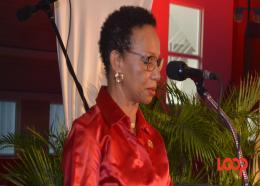 Principal of The UWI Cave Hill Campus, Professor Eudine Barriteau.