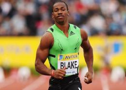 Yohan Blake ... the big favourite to win the men's 100 metres.